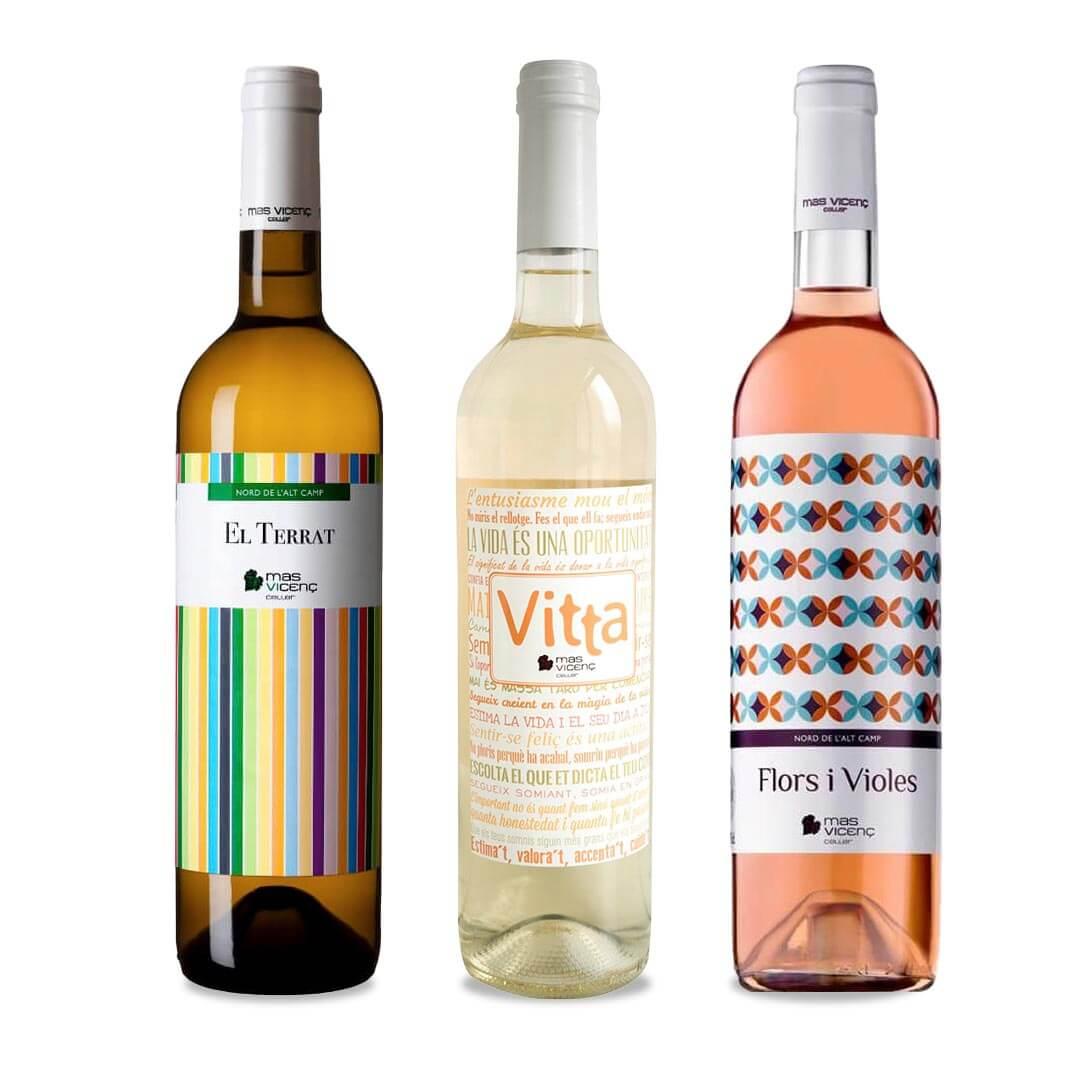 Vino Blanco Castell Tallat - Mas Vicenç