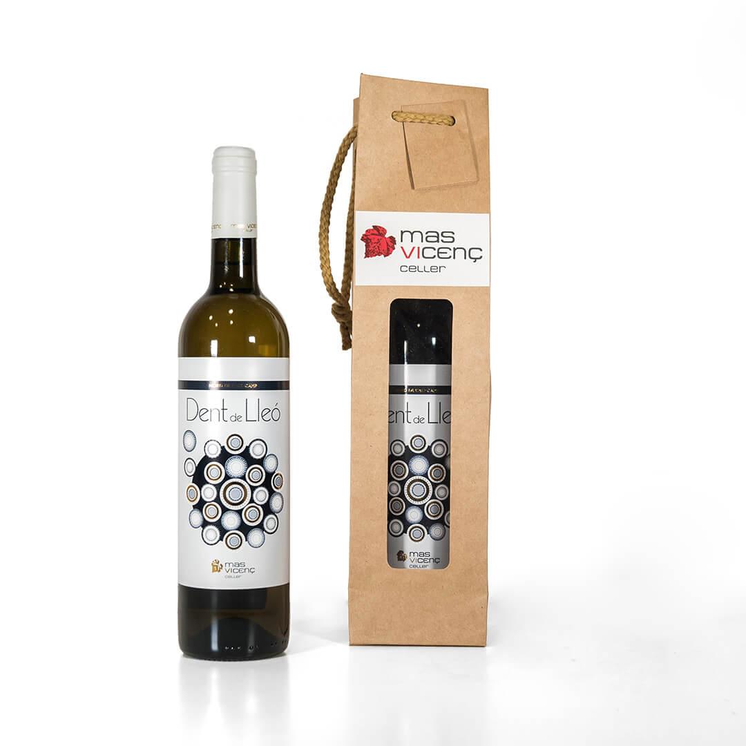 Pack regalo: botella de vino a escoger